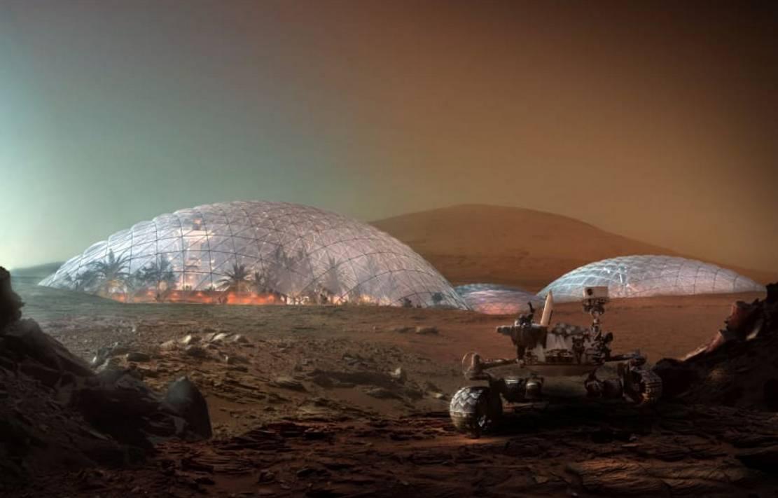 Martian City for the Desert near Dubai (7)