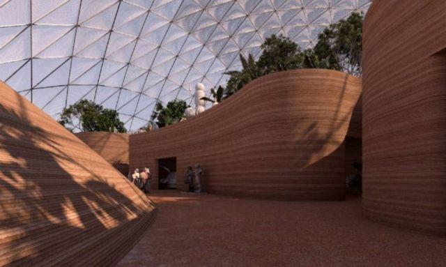 Martian City for the Desert near Dubai (5)