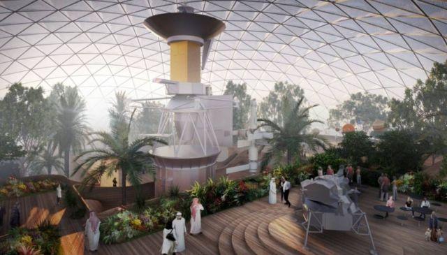 Martian City for the Desert near Dubai (2)