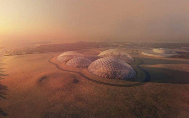 Martian City for the Desert near Dubai (1)
