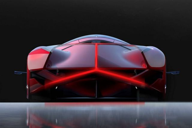 Mercedes-Benz Red Sun hypercar concept (3)