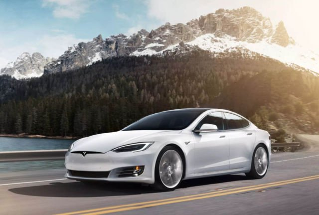 Model S Long Range Plus - First 400 mile electric vehicle