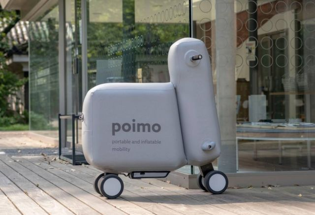 Poimo inflatable electric Scooter