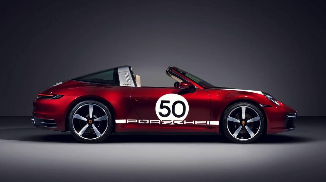 Porsche 911 Targa 4S Heritage Design Edition (1)