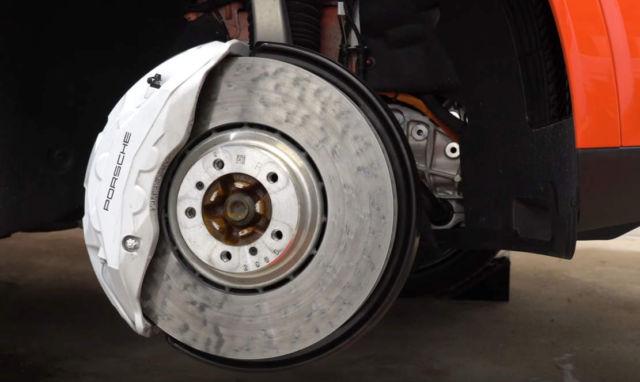 Porsche Surface Coated Brakes -PSCB