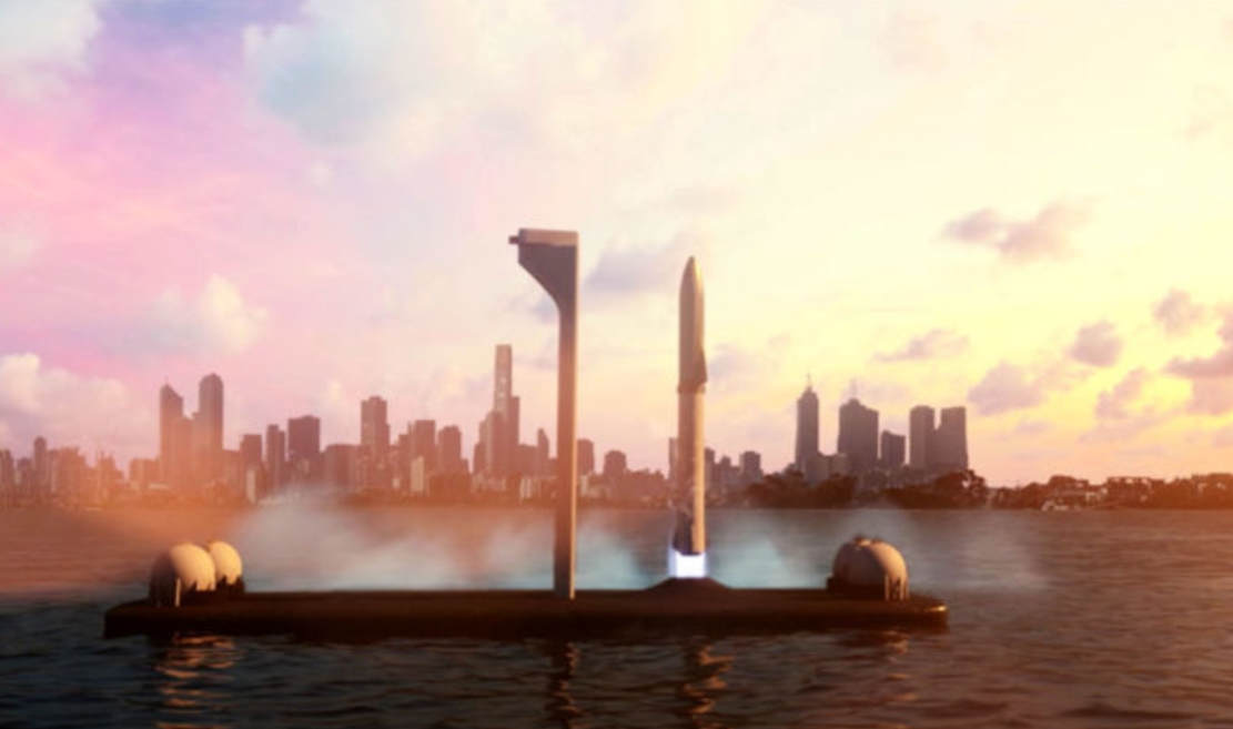 SpaceX is building Floating Spaceports