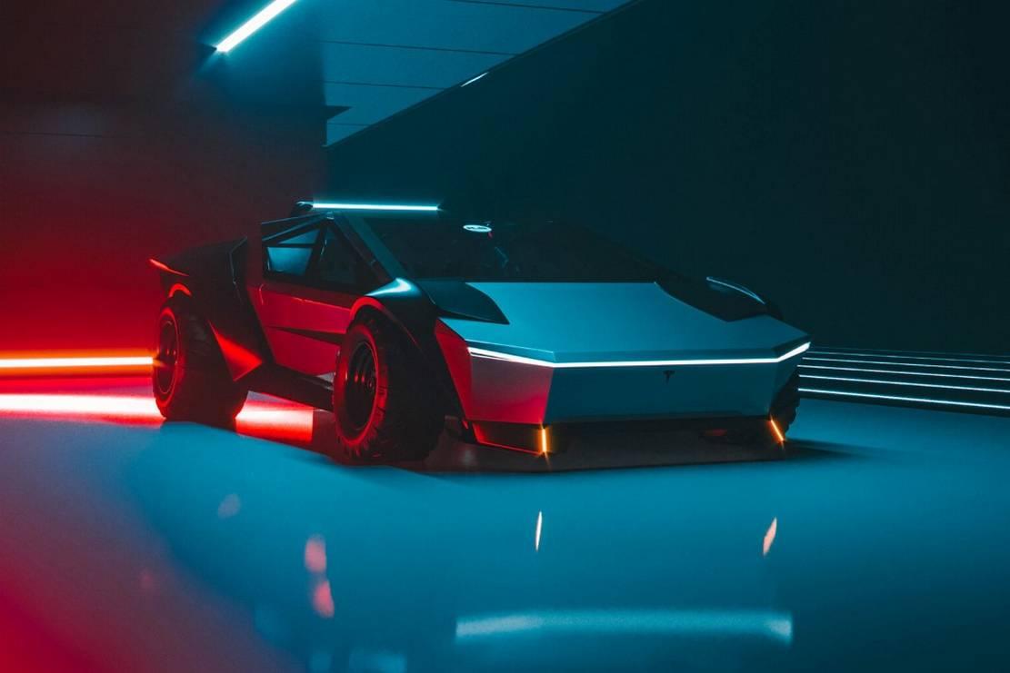 Tesla Cybertruck Re-Design concept (6)