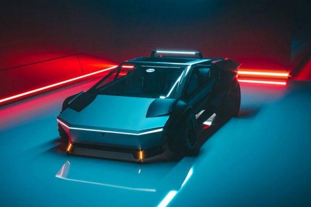 Tesla Cybertruck Re-Design concept (5)