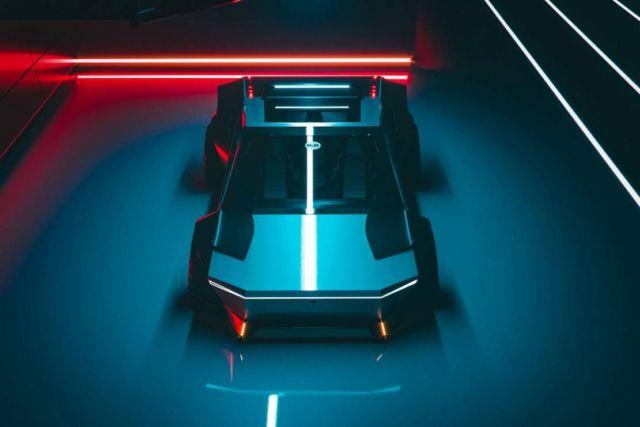 Tesla Cybertruck Re-Design concept (4)