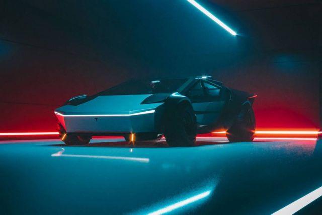 Tesla Cybertruck Re-Design concept (1)
