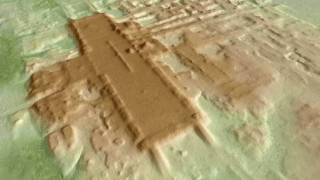 The oldest and biggest Mayan Monument discovered