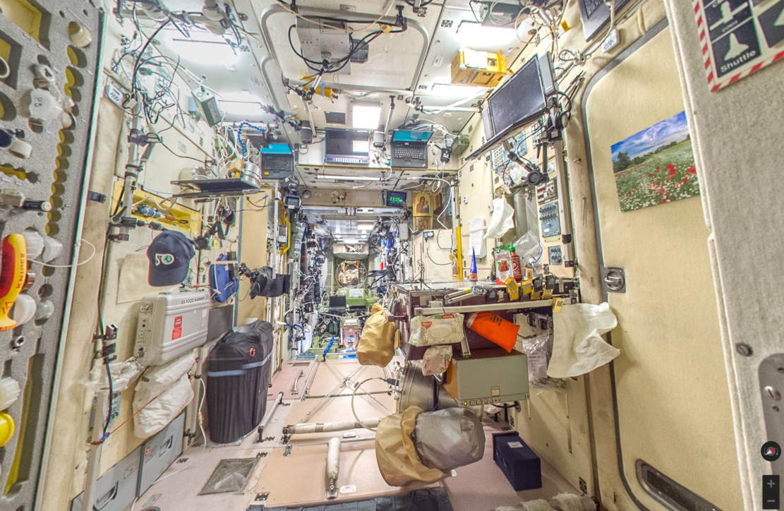 Virtually Tour in the International Space Station