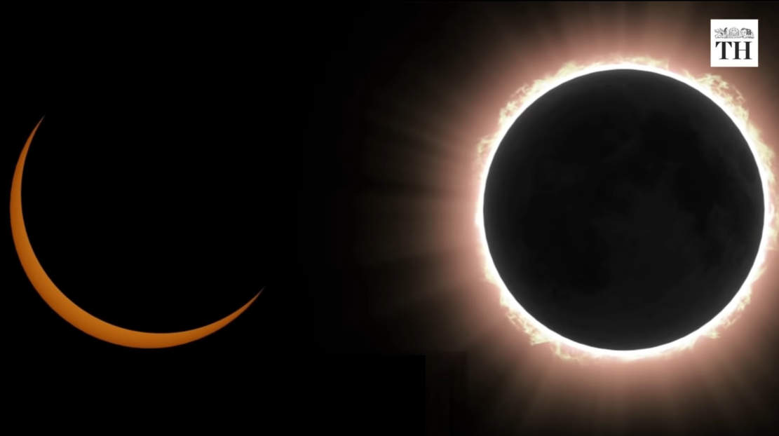 What is an annular solar eclipse