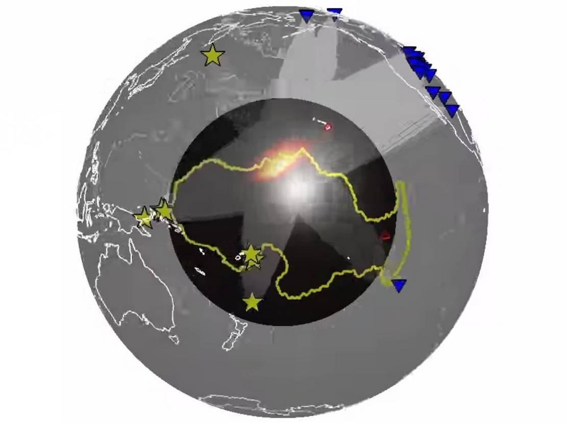 Widespread Structures near Earth's Core