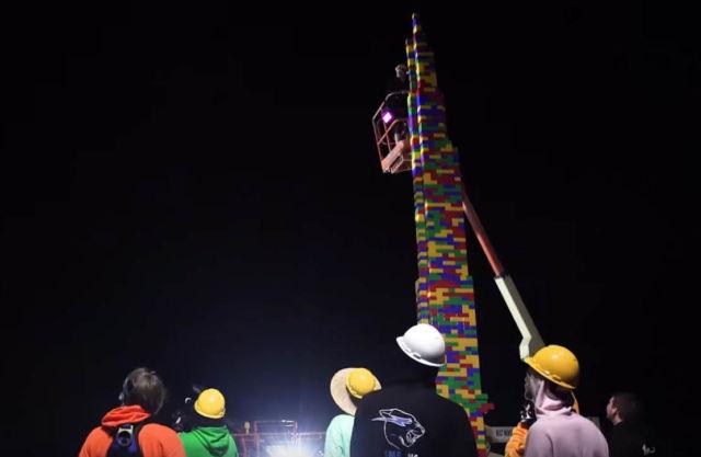 World's Largest Lego Tower
