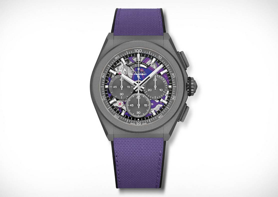 Zenith Defy Ultraviolet 21 chronograph