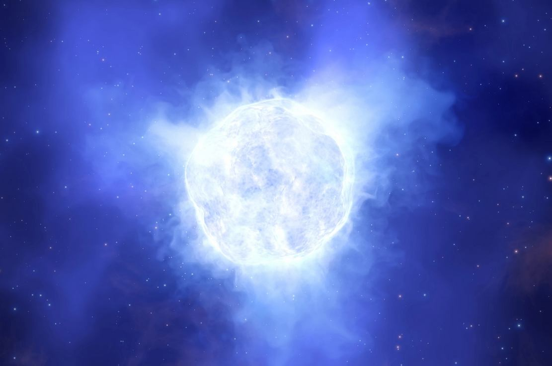 A massive Star may have Disappeared