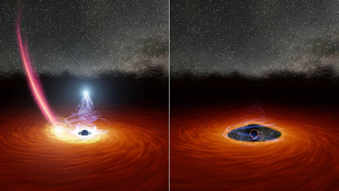 Astronomers witnessed a Black Hole 'Blink'