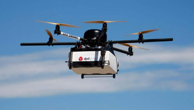 Drones to deliver Packages more efficiently by taking the Bus