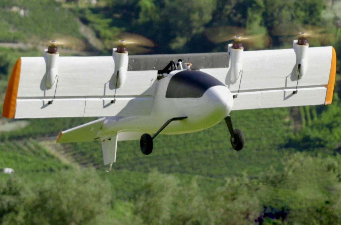 Dufour completes first phase of VTOL Flight