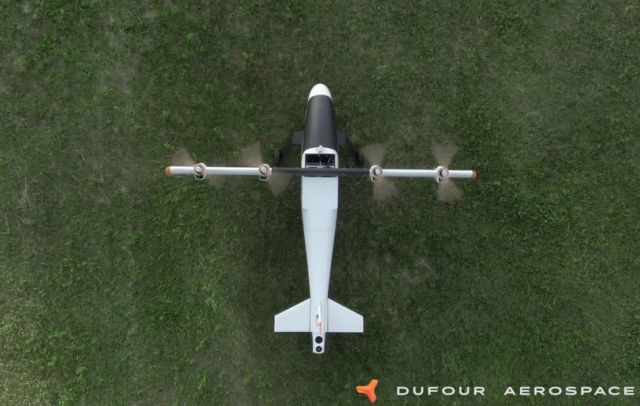 Dufour completes first phase of VTOL Flight (2)