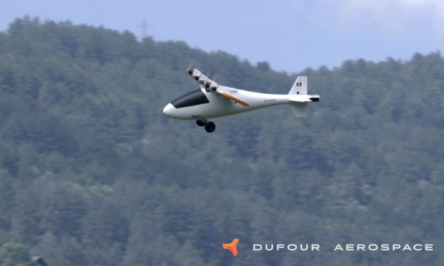 Dufour completes first phase of VTOL Flight (1)