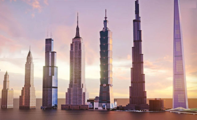 Evolution of world's Tallest Building