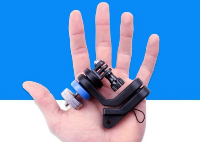 GravGrip- Battery Free Camera Stabilization