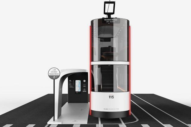 Island Double-Decker driverless tram concept (3)