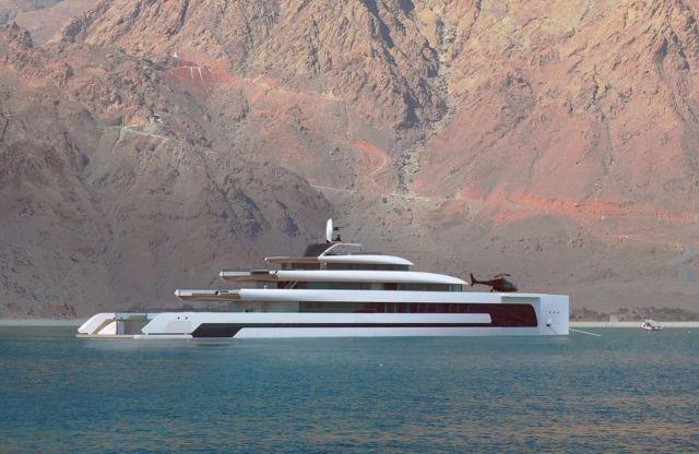 Kiwa 110-metre Superyacht