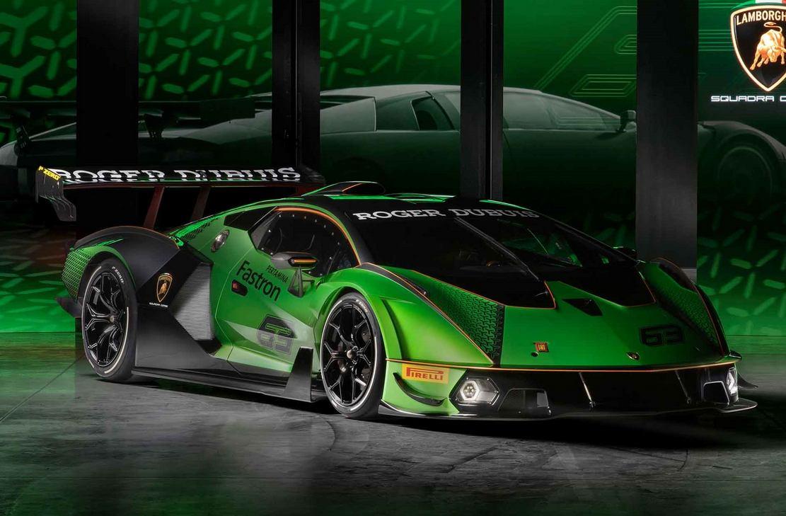Lamborghini Essenza SCV12 track Hypercar