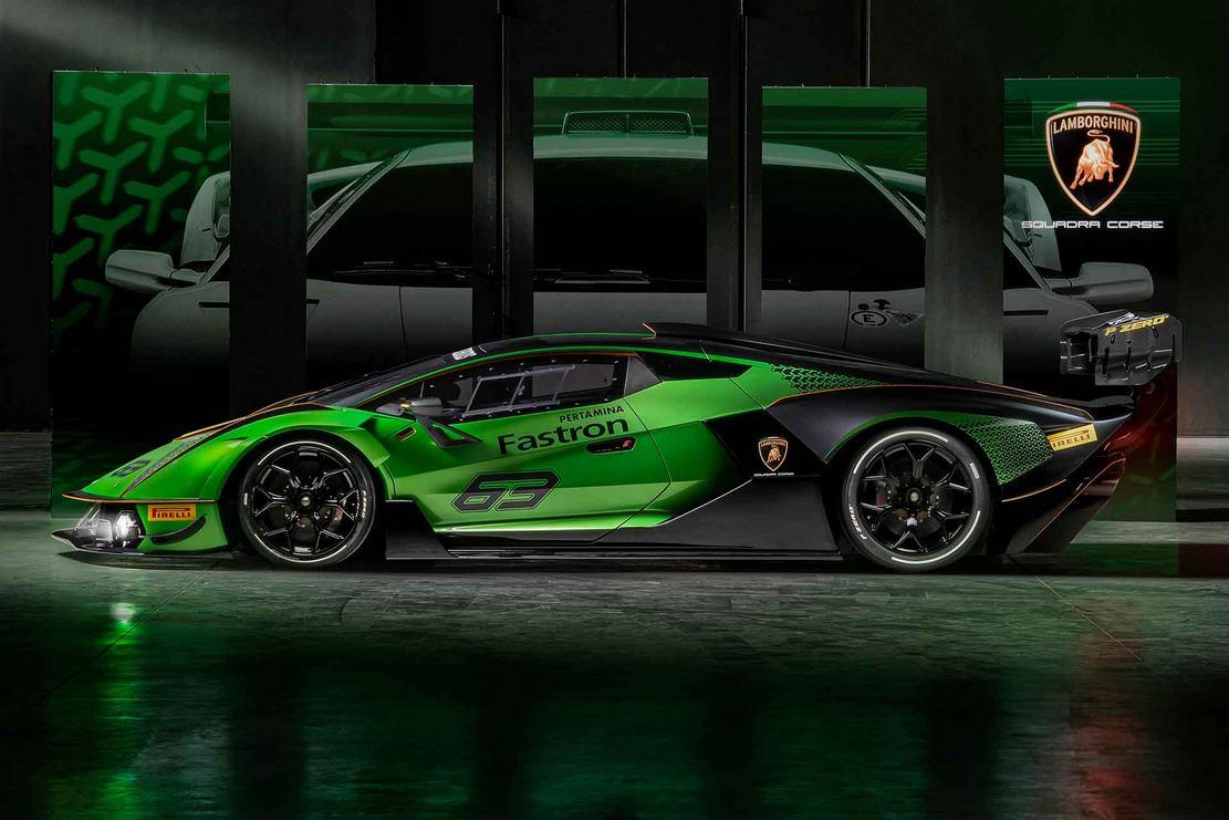 Lamborghini Essenza SCV12 track Hypercar (1)