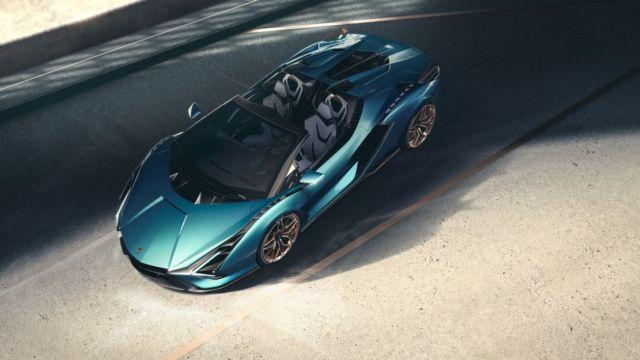 Lamborghini Sián Roadster (2)
