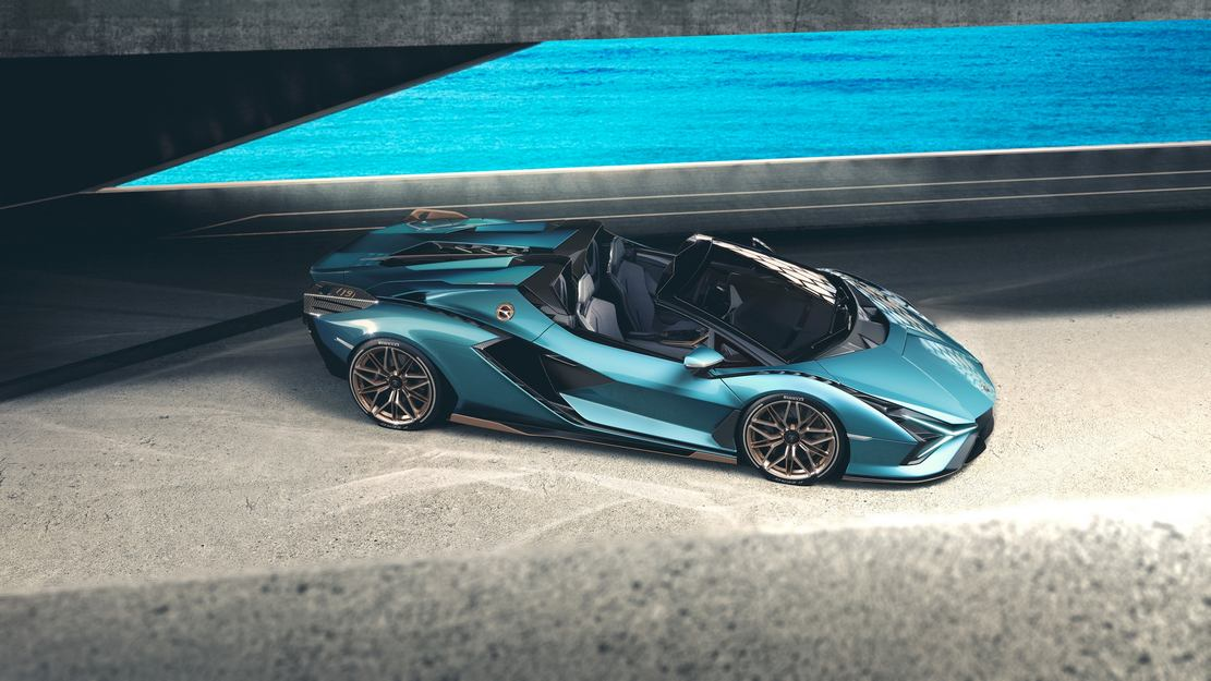 Lamborghini Sián Roadster (1)