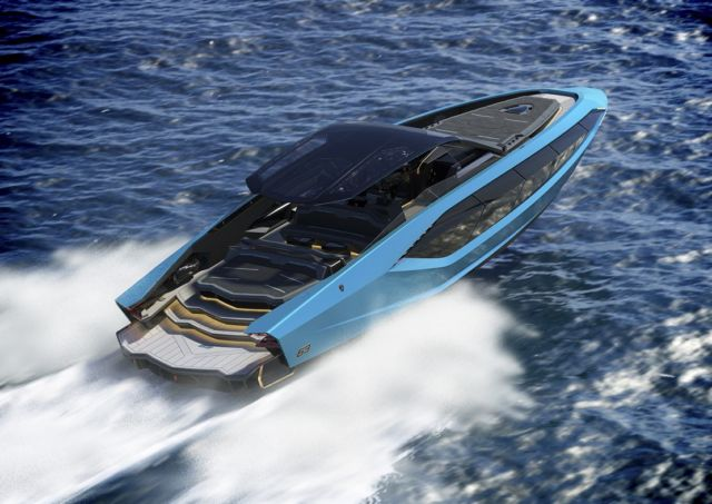 Lamborghini Tecnomar 63 Motor Yacht