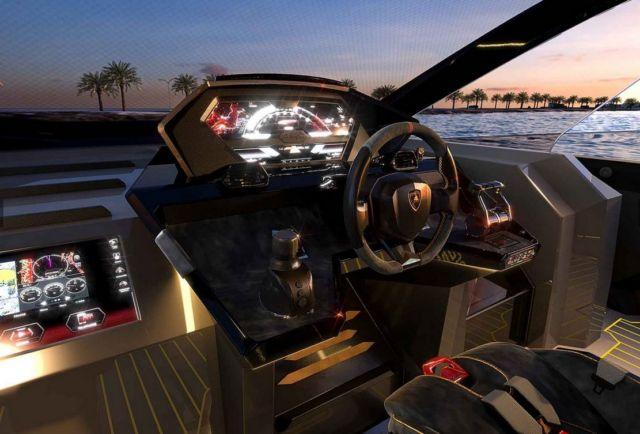 Lamborghini Tecnomar 63 Motor Yacht (3)