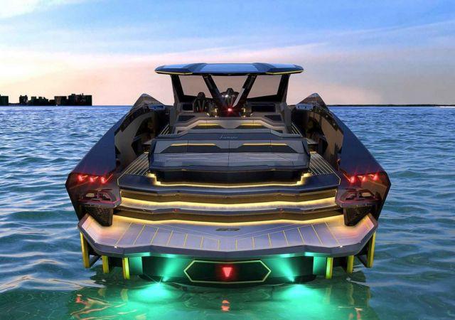 Lamborghini Tecnomar 63 Motor Yacht (2)