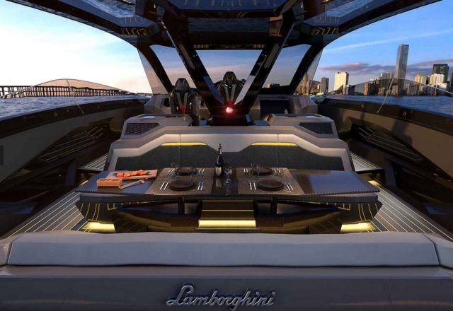 Lamborghini Tecnomar 63 Motor Yacht (1)