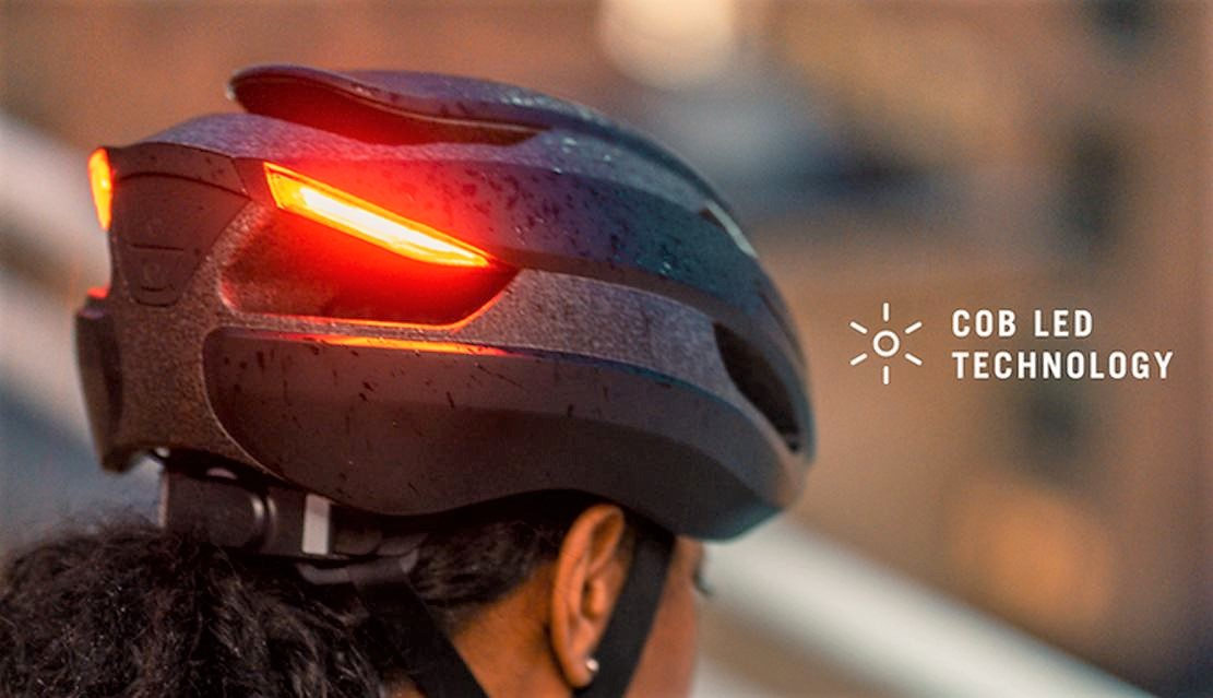 Lumos Ultra LED light bike Helmet
