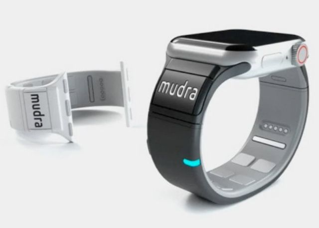 Mudra Band add gesture control to Apple Watch