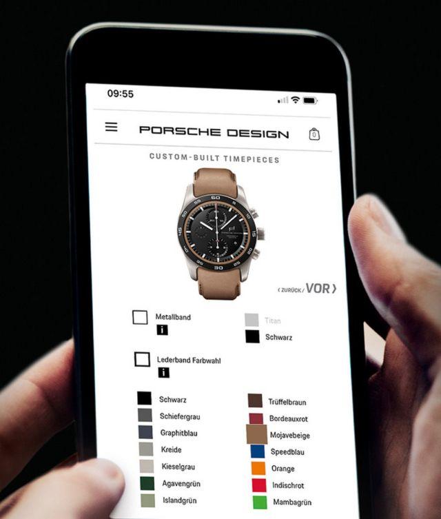 Porsche custom builds your Watch (2)