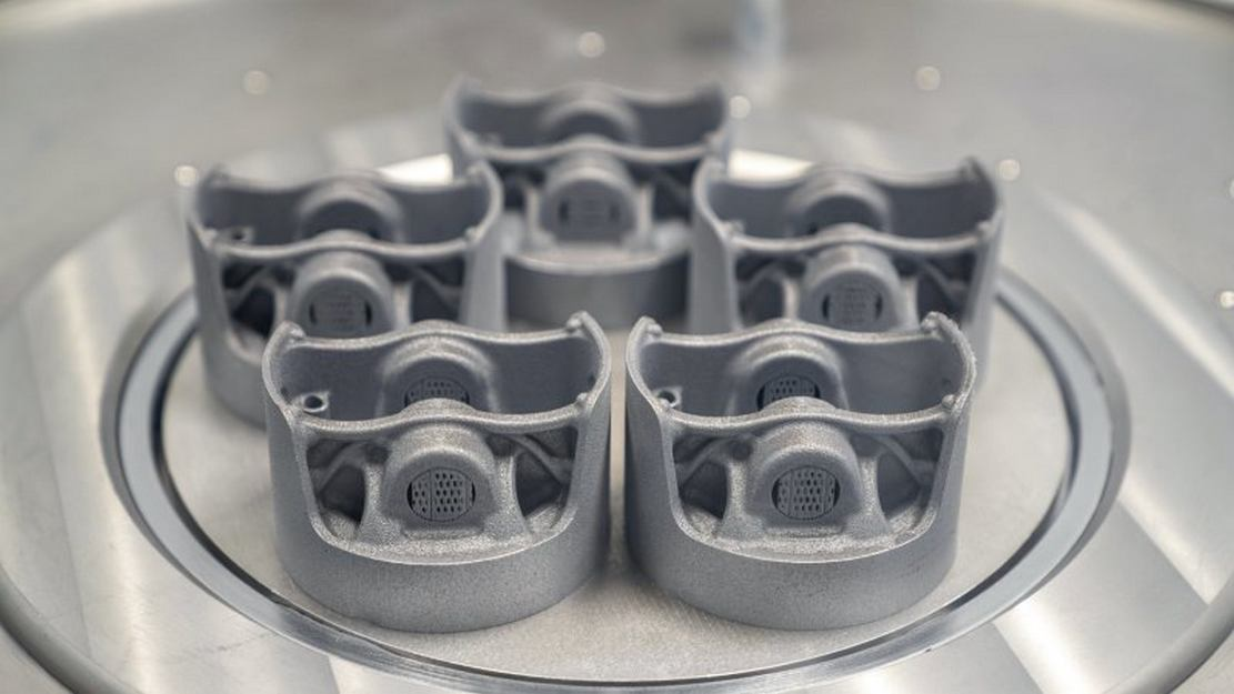 Porsche is gaining power from 3D printed pistons