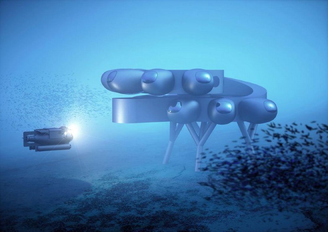 Proteus Underwater Habitat (1)