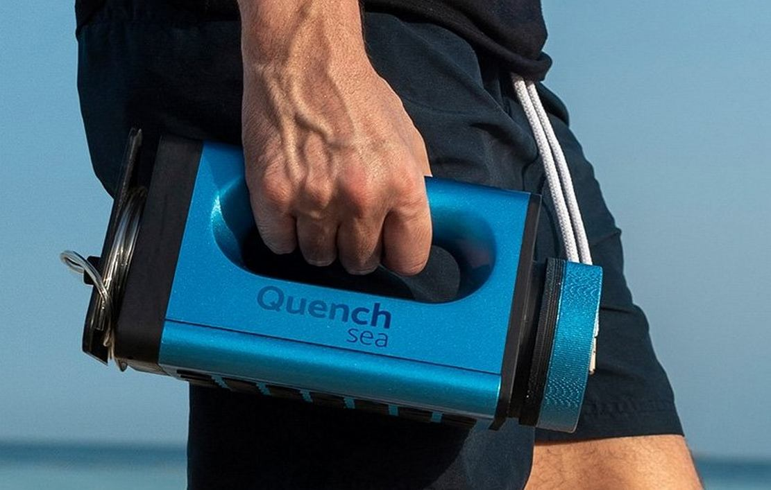 QuenchSea portable device that turns Seawater into Drinking Water (5)
