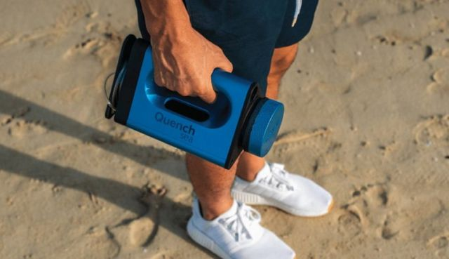QuenchSea portable device that turns Seawater into Drinking Water (4)