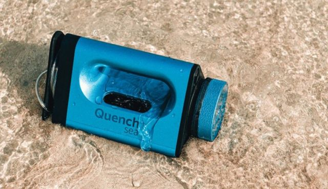 QuenchSea portable device that turns Seawater into Drinking Water (3)
