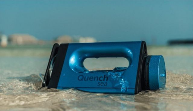 QuenchSea portable device that turns Seawater into Drinking Water (1)