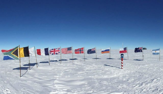 South Pole is Warming 3 times faster than the rest of Planet