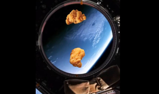 World's first Laboratory-produced Chicken Nuggets