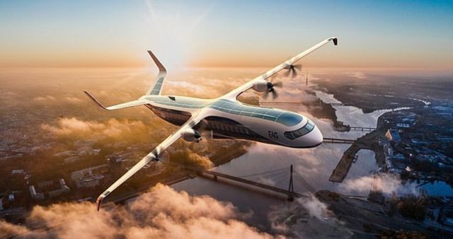 Electric Aviation Hybrid Electric plane (3)